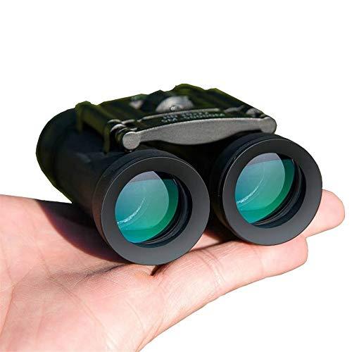 LISAY Militar HD 40x22 Binoculares Profesional Caza Telescopio Zoom Visión Ocular infrarrojo Trave al Aire Libre Regalos (Color : Black)