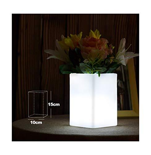 BEN-YI Tisch LampLED Licht Vase Lampe Schreibtischlampe Kreative Lade Restaurant Dekoration Leselampe Bunte KTV Bar -871Tischlampe (Farbe : A)
