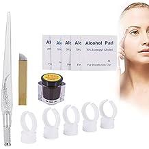 Tatuaje Ceja 3D Microblading de Pigment Practice Kit Permanent Manual herramienta de maquillaje