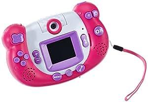 Idena 6402342 - Kids Cam Digitalkamera, mit drehbarer Linse, pink