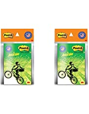 3M Post-It Hot Wheels Theme Printed Notes - Pack of 2