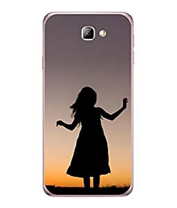 Snapdilla Designer Back Case Cover for Galaxy ON NXT (Zoom Photograph Natural Beauty Dark Shade )