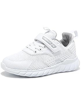 Unisex Zapatilla de Deporte del Zapato Negro Rosa Gris Blanco 25-36 EU