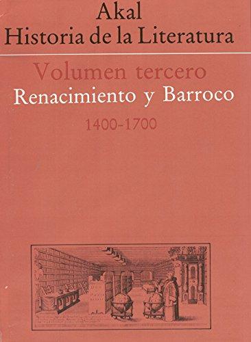 Historia de la literatura III por Aa.Vv.