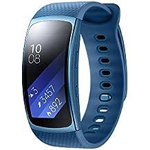 Samsung SM-R3600ZBNXEF Gear Fit - Bbrazalete de fitness con GPS ( tamaño: S), color azul