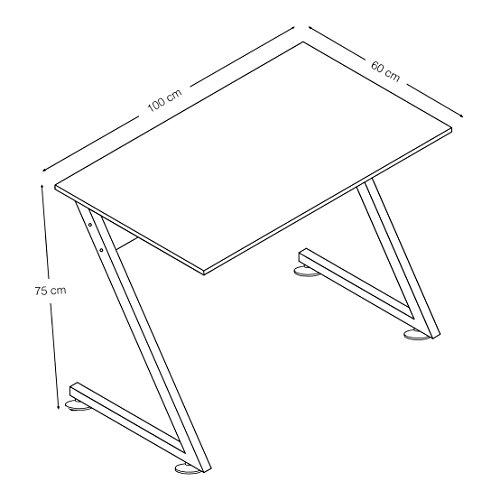 Image of Mari Home - Fradley Black Home Office Computer Corner Desk Study Table Workstation