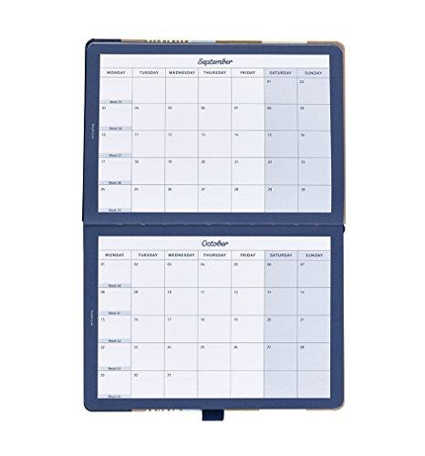 Busy B Terminkalender 2018 für Vielbeschäftigte mit doppelter Wochenansicht in modernem Design - 6