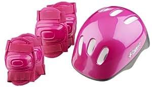 Girls' Bike Helmet and Pads Set by Riderz