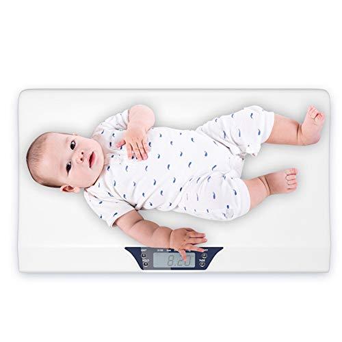 WLIXZ Babywaage, Multifunktions-Digitalwaage messen Kleinkind/Erwachsener / Hund/Katze Gewicht, Genauigkeit bei ± 10 g, 44 lb