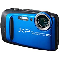 Fujifilm - FinePix XP120 -Blue- 16.4-Megapixel Waterproof Digital Camera