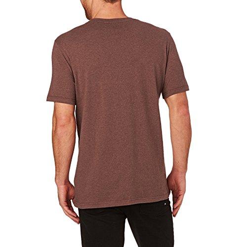 Element Emblem T-Shirt Rot