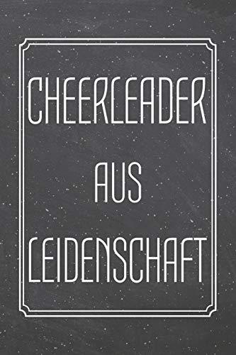 Cheerleader aus Leidenschaft: Cheerleader Punktraster Notizbuch, Notizheft oder Schreibheft | 110  Seiten | Büro Equipment & Zubehör | Lustiges Geschenk zu Weihnachten oder - Lustige Kostüm Für Das Büro