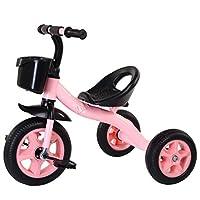 FOXHUNTER Kids Child Children Trike Tricycle 3 Wheeler Bike Steel Frame Pink New 2-5 Year