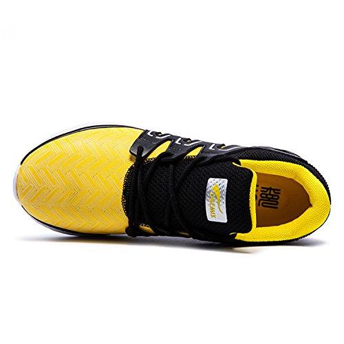 Onemix Ultraléger Chaussures de Course Homme Black / Yellow