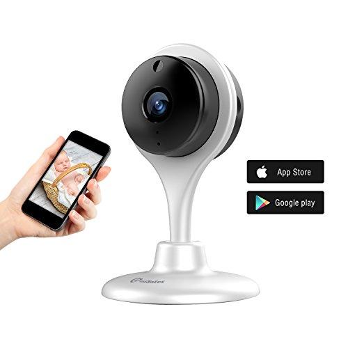 Night-Vison-Kamera-Audio-Babyphones-berwachung-berwachungskamera-360-Grad-Wireless-Innen-kamera-Mini-IP-Cam-Baby-Haustiere-Video-Monitor-WiFi-berwachungskamera-fr-iPhone-iOS-Android-HD-720p