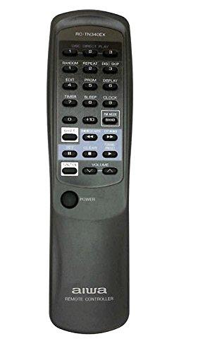 Aiwa rc-tn340ex CD-Player System Fernbedienung für cxnv21, cxnv70, msxa303, nsx3150, nsx3200, nsx340, nsx345, NSXA30, NSXA303, NSXA303A, nsxv20, nsxv20b, nsxv21, nxsa30, nxsa303a