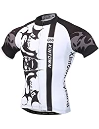 Free fisher Jersey Maillot de cyclisme T-Shirt vélo Homme Manches courtes