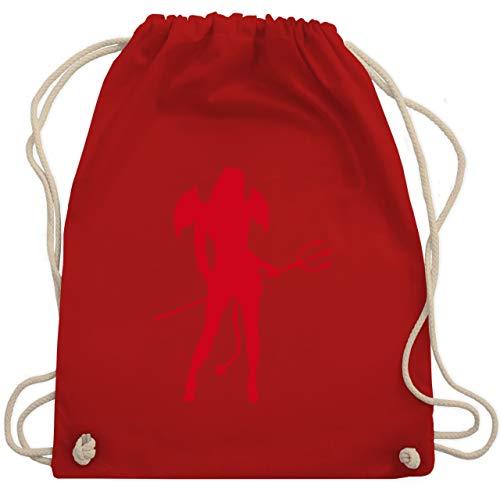Halloween - Sexy Teuflin - Unisize - Rot - WM110 - Turnbeutel & Gym Bag