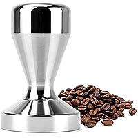 Espresso Tamper Press 51mm, Modern Professional Barista | Espresso Flat Silver