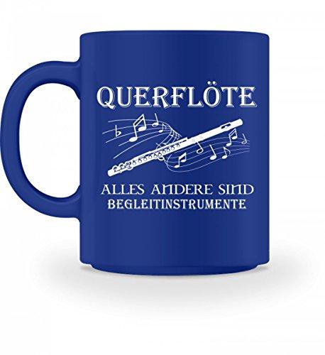 Hochwertige Tasse - Querflöte Shirt · Musiker · Blasmusik · Musik · Musikinstrument · Musikverein · Hobby · lustig · Spruch · Pulli · Jacke · Hoodie · T-Shirt · Geschenk