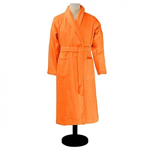 Essix Home Collection, Accappatoio, Rosso (Krapprot), XL Arancione (Mandarine)