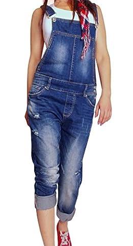 Damen Jeans Latzhose , Größe:S/36 Maße