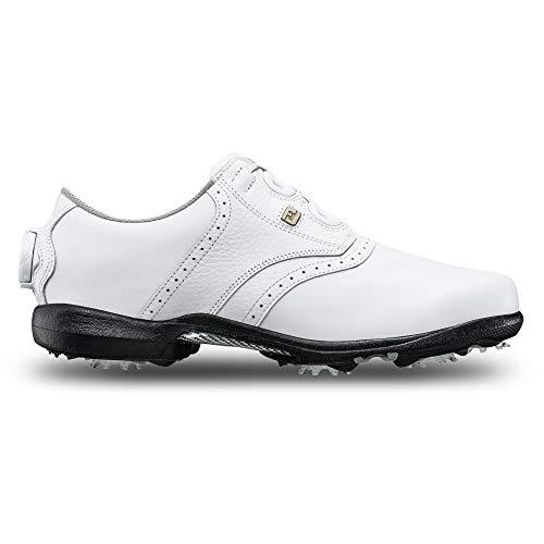 Footjoy DryJoys, Scarpe da Golf Donna, Bianco (White 99017), 40 EU