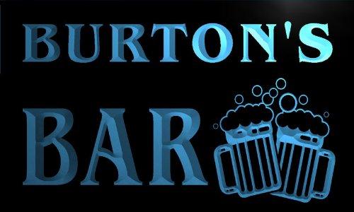 cartel-luminoso-w000255-b-burton-name-home-bar-pub-beer-mugs-cheers-neon-light-sign