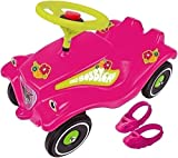 Flower Power Big Toy Factory 800056103 Big Bobby Car with shoe Pads & Quiet pneumatici