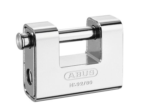 Abus 92/80 B - Candado Monoblock rectangular blindado 80mm blister