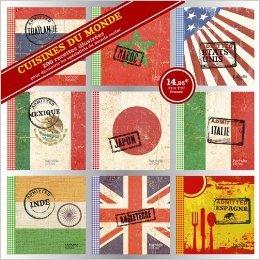 Coffret 9 mini livres cuisine du monde de Collectif ( 12 septembre 2012 )