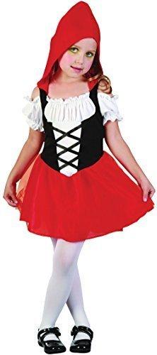 Mädchen-rot Kapuze Bonbon Kleinkind Kostüm für Märchen Rotkäppchen Kostüm Kinder (Red Riding Hood Kostüm Kleinkind)