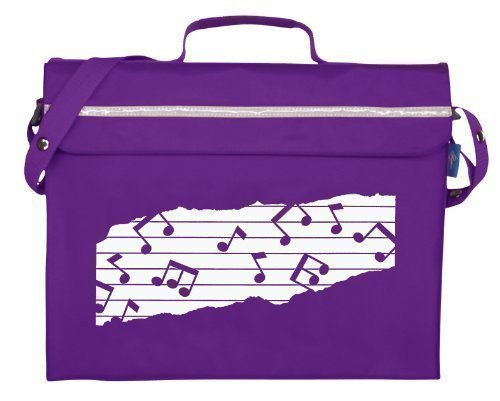 Mapac Sac pour partitions musicales Violet Primo
