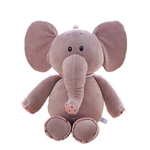 Good Night Dessin animé peluche Jouets bébé peluche Poupée de couchage, Elephant, 17,7''