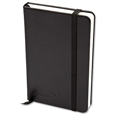 Silvine Executive Soft Feel Notebook Ruled with Marker Ribbon 160pp 90gsm A5