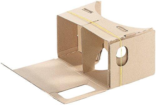 PEARL VR Überbrille: Virtual-Reality-Brille VRB55.3D, Bausatz für Smartphones (5
