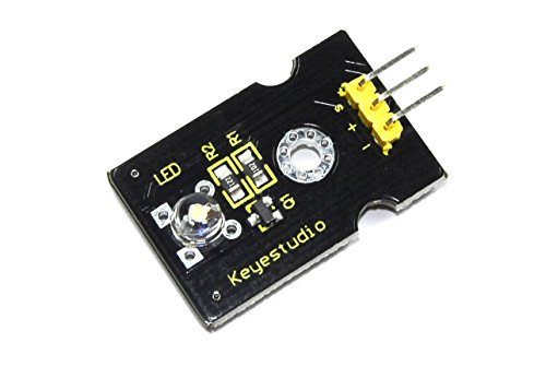keyestudio 5 mm weiß stroh Hat LED-Modul KS0017 Helm Arduino