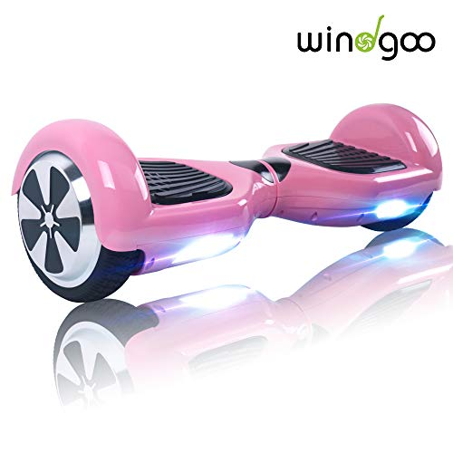 "Windgoo Hoverboard für Mädchen - 6.5\"" Self-Balance Elektro Scooter UL2272 Sicherheitszertifiziert, Basic Wahl für den Anfang (Rosa)"