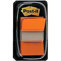Post-It 70071392826 - Dispensador con 50 indices, mediano, color naranja