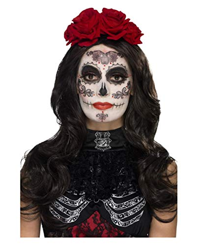 ges Day of The Dead Glamour Sugar Skull Make-Up Kit für Halloween ()