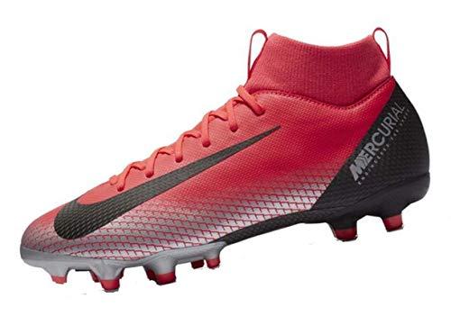 Nike Unisex-Erwachsene Superfly 6 Academy Cr7 Sg Fußballschuhe, Mehrfarbig (Bright Crimson/Black/Chrome/Dark Grey 600), 44 EU