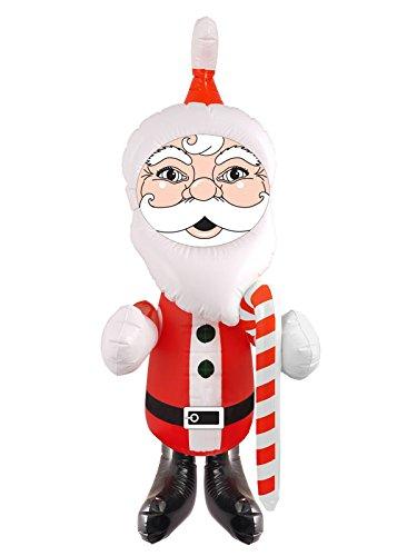 Inflable 67cm Papá Noel / Santa - Decoración de Novedad