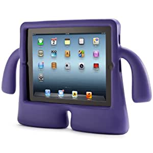 Speck iGuy Kids Protective Rubberised Cover Compatible with 10.1 inch iPad, 2, 3 and 4 - Grape Purple