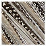 """Sexy Sparkles pluma extensiones de pelo 4""""-6zebrz con plumas 5Salon Calidad de extensión para American Gallo"""