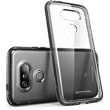 Housse pour LG G5 2016 i-Blason [Serie Halo] Etui / Coque hybride anti-choc (noir)