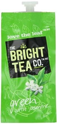 FLAVIA Tea, Green with Jasmine, 20-Count Fresh Packs (Pack of 5)