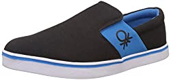 United Colors of Benetton Mens Black (902) Sneakers - 6.5 UK/India (40 EU)