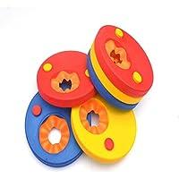 Manguitos de Natación para niños, hechos de Espuma Eva, Color Aleatorio (6 PC)