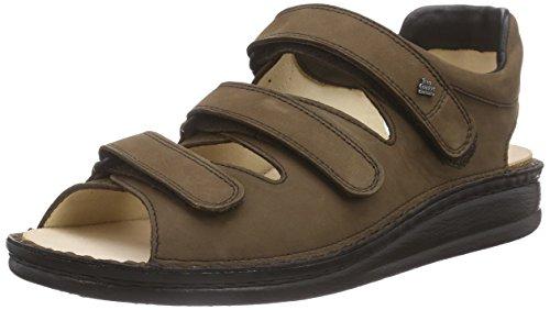 FinnComfort Sandale Tunis Havanna - Größe 41 (Leder Aus Sandalen Für 15 Männer Größe)