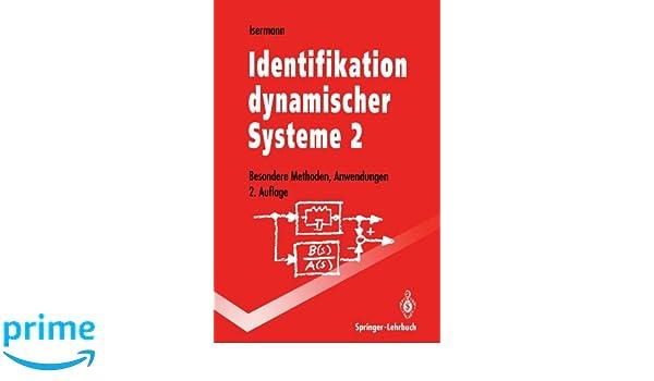 identifikation dynamischer systeme 2 isermann rolf
